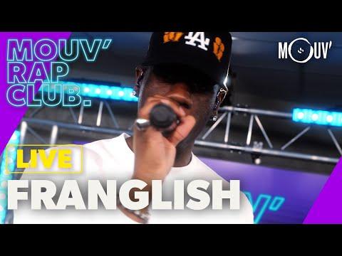 Youtube: FRANGLISH:«Sans moi»,«Nuit Blanche»,«Nous»,«Big Mama» (Live @ Mouv' Rap Club)