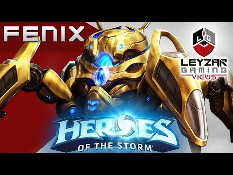 Heroes of the Storm (Gameplay) - Fenix Shield Build (HotS Fenix Gameplay Quick Match)