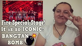 Download lagu Fire Special Stage BTS COMEBACK SHOW REACTION MP3