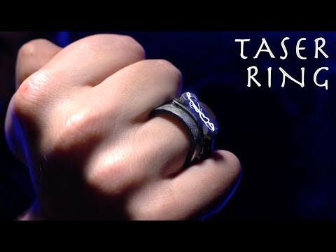 How To Make a TASER RING! - KINGSMAN SPY GADGET!!! (Cheap Easy Build)