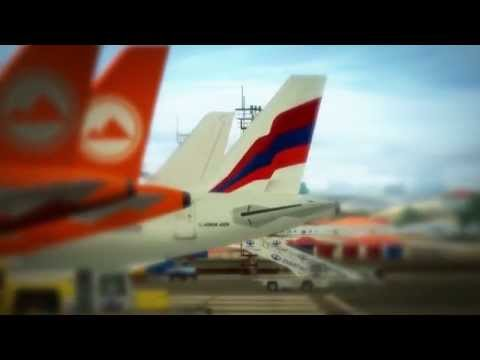 Air Armenia & Zvartnots - Takeoff