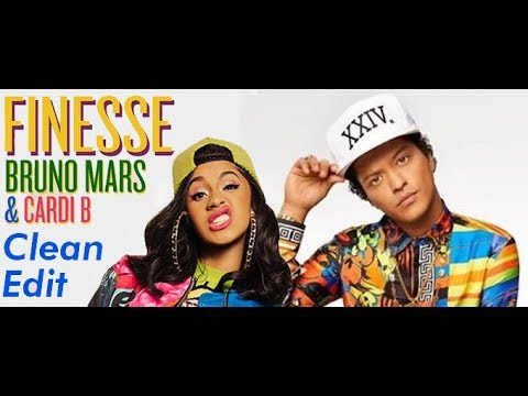 Bruno Mars - Finesse (Remix) [Feat. Cardi B] [CLEAN EDIT]