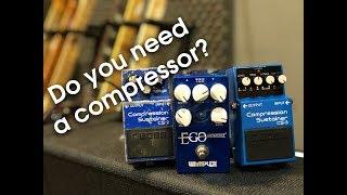 Do you need a compressor pedal?