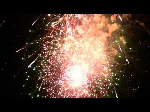 Winthrop Massachusetts Fireworks Finale 2009