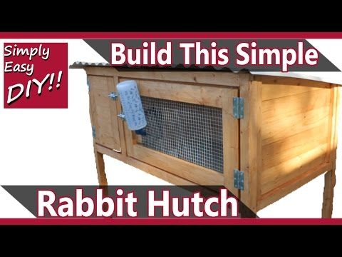 Build a Rabbit Hutch Design #2