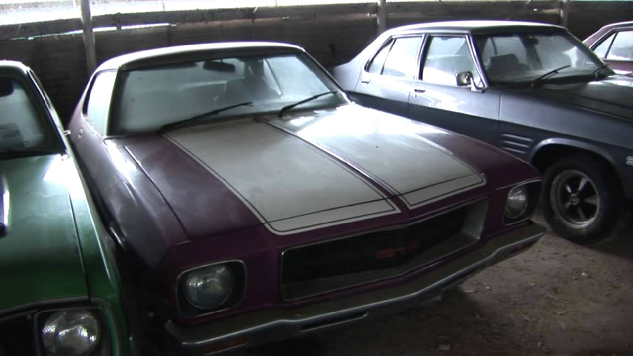 Gasolene Muscle Car Barn Find Pt Youtube