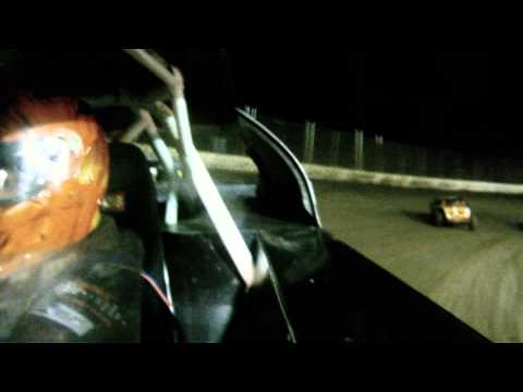 Jamie Lomax Kankakee County Speedway UMP Modified Heat Race 9/28/12