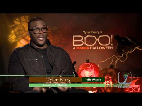 Tyler Perry Interviewed for Boo! A Madea Halloween