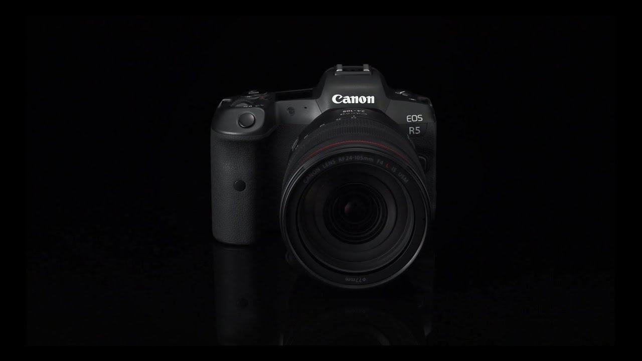 Canon EOS R5  resmi olarak duyuruldu!
