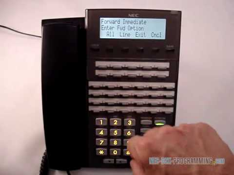 nec dsx how to call forward to a co worker www nec dsx rh youtube com NEC DSX 22B Telephone Display DSX 22B Display BK Tel