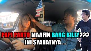 EXCLUSIVE BANG BILLY NGAJARIN AMANDA NYETIR MOBIL !!!