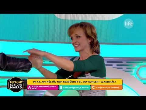 Titkos kis rituálé Csabival: Szandi enélkül nem lép színpadra - LifeTV
