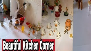 Kitchen corner decoration || Kitchen inside kitchen || Kitchen corner decoration idea