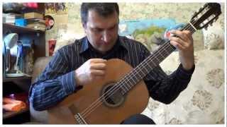 """Колыбельная из к-ф""""Долгая дорога в дюнах"""", гитара соло"""
