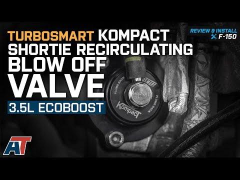 2011-2012 F150 Turbosmart Kompact Shortie Recirculating BOV 3.5L EcoBoost Review & Install