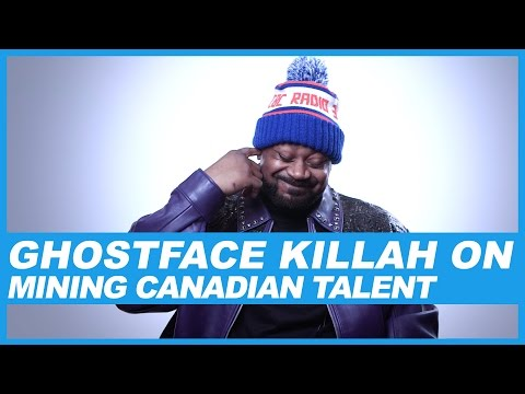 Ghostface Killah On Mining Canadian Talent