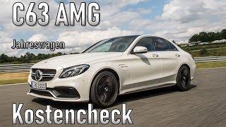 Mercedes Benz C63 AMG 2018 Unterhaltskosten | Jahreswagen