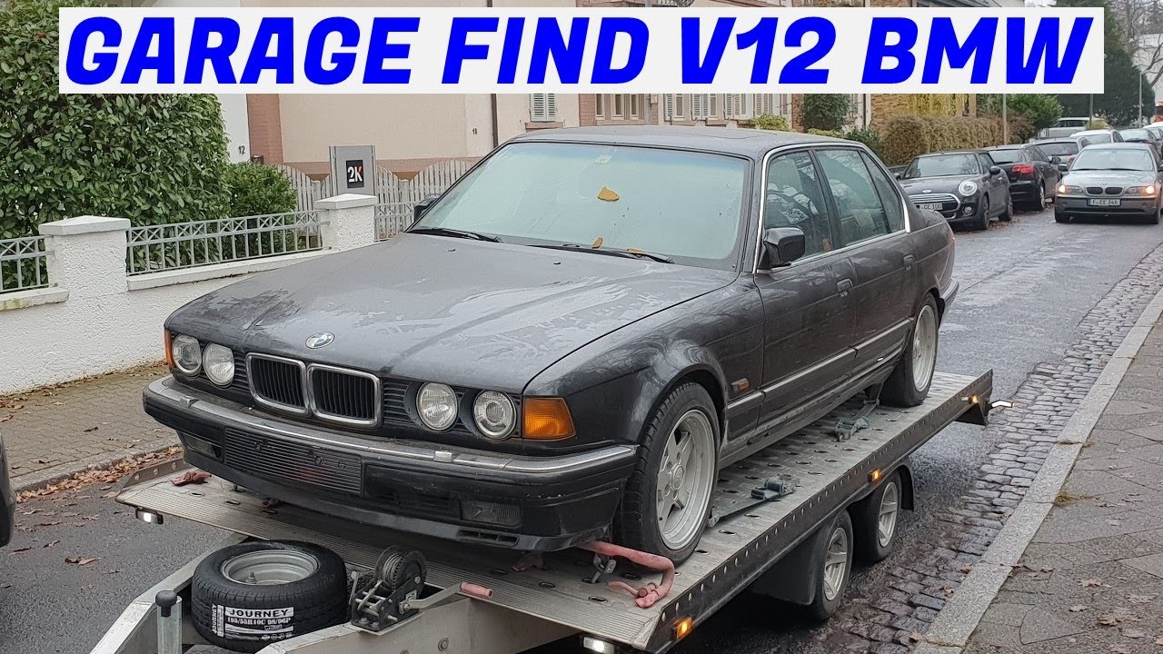 Forgotten V12 BMW E32 750iL Gets Rescued - Project Karlsruhe: Part 2
