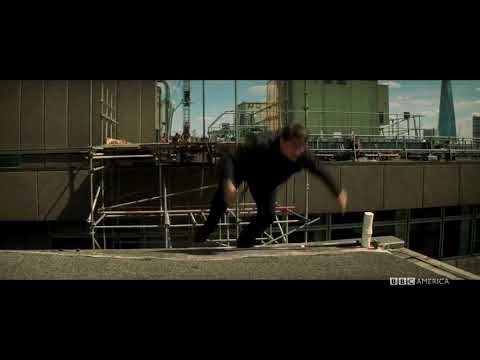 Exclusive footage of Tom Cruise's ankle break on MI6 HD