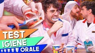 IL MIGLIOR SPAZZOLINO! - Test dell'igiene orale
