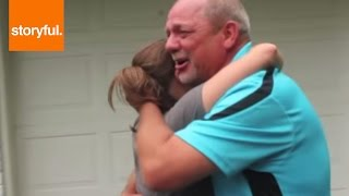 Daughter Surprising Stepdad With His Old Porsche