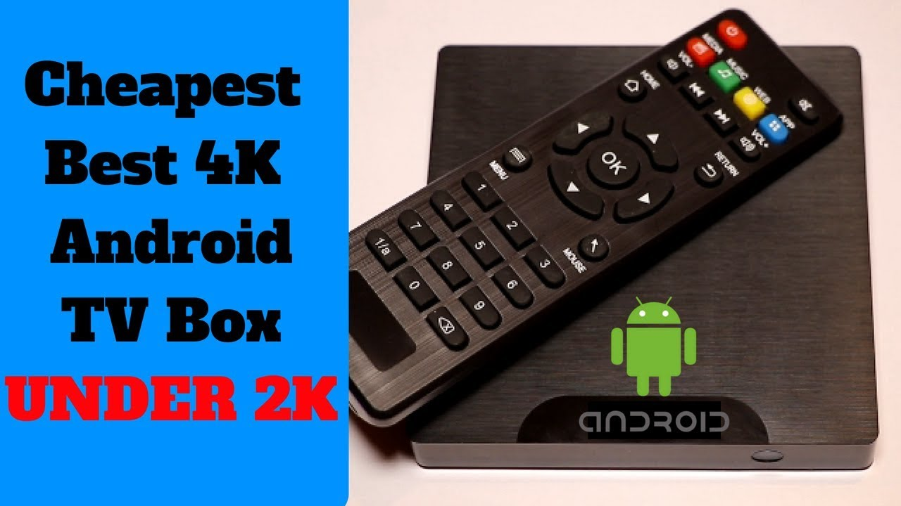 Best Budget 4k Android TV Box |W95 Android TV Box Review | 2018 | India