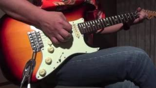 Stevie Ray Vaughan - Honey Bee (guitar cover)