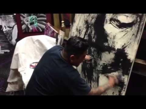 Painting of Jesus Chri...
