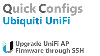 QC Ubiquiti UniFi - Update UniFi AP Firmware through SSH