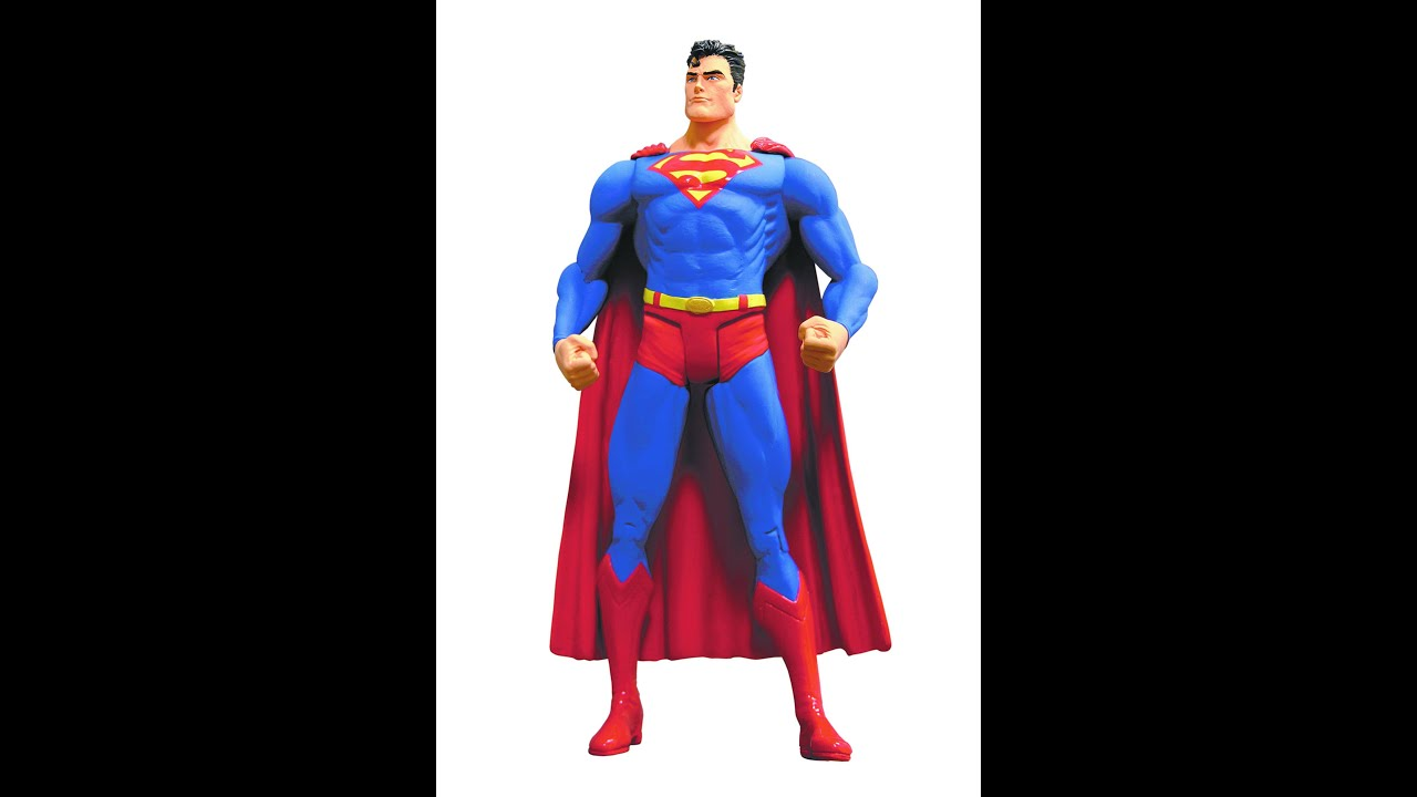 Best Superman Toys And Action Figures For Kids : Superman action figure toys for kids youtube