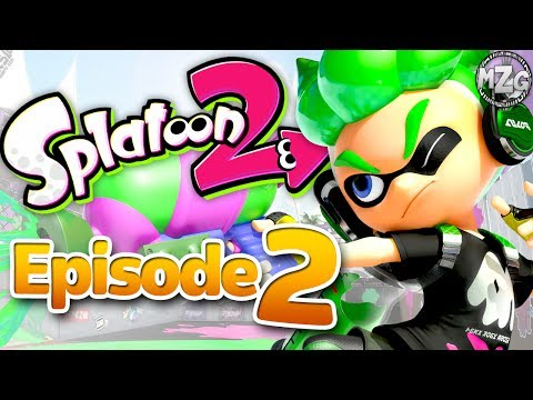 Sheldon's New Weapons! - Splatoon 2 Story Mode - Episode 2 (