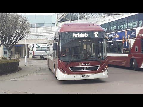 Service 12: Lothian Buses Volvo 7900H 1 (LB13 BUS)