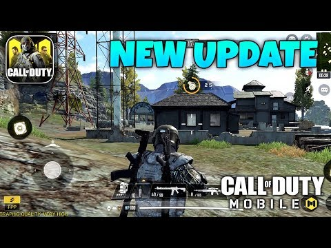 CALL OF DUTY MOBILE - NEW ANDROID UPDATE GAMEPLAY