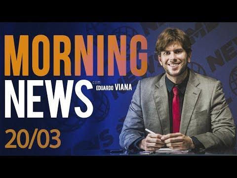 MORNING NEWS - 20/03.  Caravana lula . Policia fluminense. Gilmar Mendes e mais.