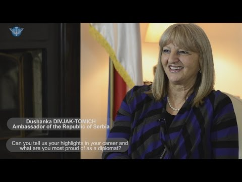 Interview with H.E. Dushanka Divjak-Tomich, Ambassador of Serbia to Macedonia
