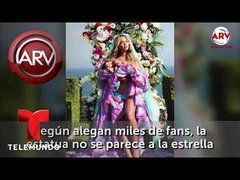 Aseguran que figura de Beyonce no se parece a ella   Al Rojo Vivo   Telemundo