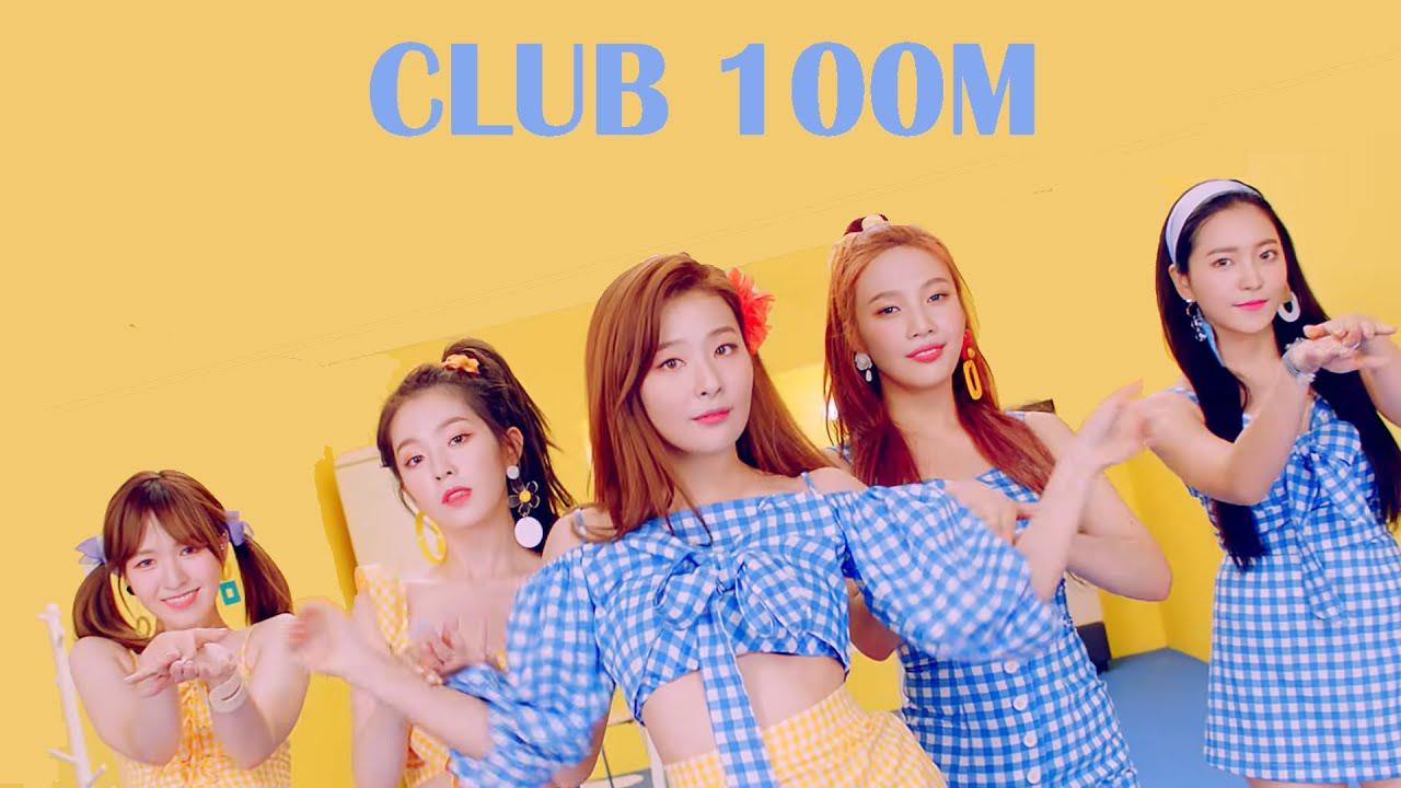 Female KPOP Songs with 100M+ Views (RED VELVET - POWER UP Update)