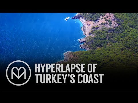 Turkey's Turquoise Coast in 4k Hyperlapse
