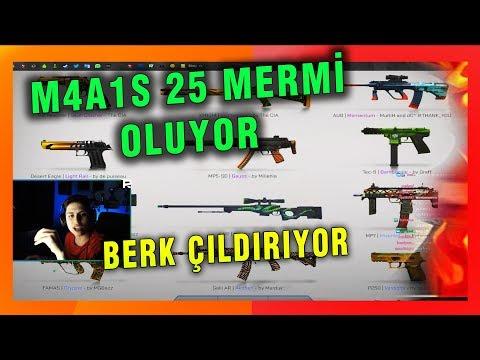 M4A1S 25 MERMİ
