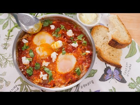 Shakshuka Eggs Poached in Spiced Tomato Sauce | Pai's Kitchen