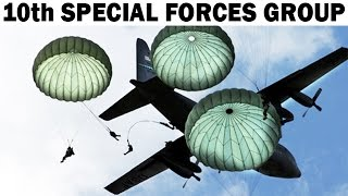 US Army's 10th Special Forces Group (Airborne) in Europe | Documentary Film