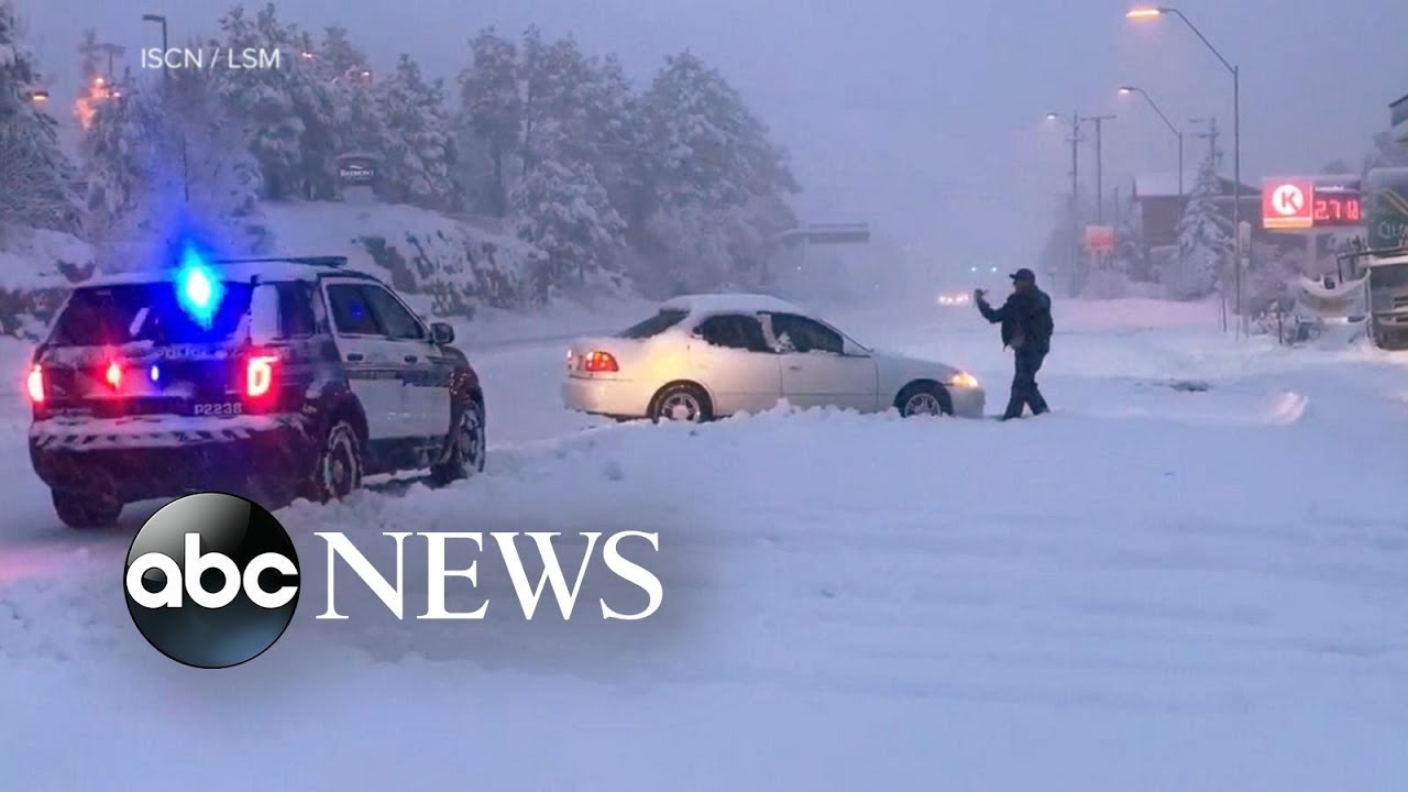 Winter storm alerts from coast to coast