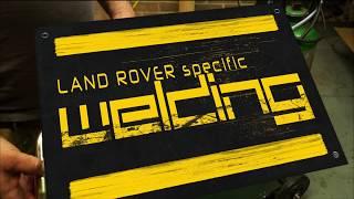 Land Rover ( MIG) Welding. -  Oxford Migmate 200-1 Walk around