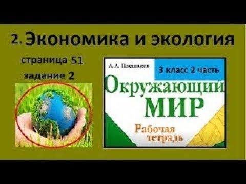 Экологический прогноз/Экономика и экология №2 (Окр.мир 3 класс)