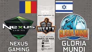 ????(LIVE RO CS:GO) NEXUS GAMING (RO) vs. GLORIA MUNDI (ISR) - $12,000 ESEA