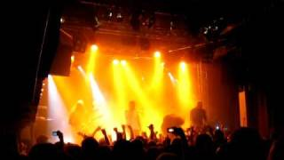 IN FLAMES   Sober and Irrelevant @ Sticky Fingers 2010