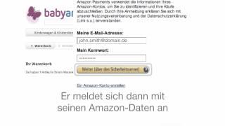 So funktioniert Bezahlen über Amazon -- Deutschland