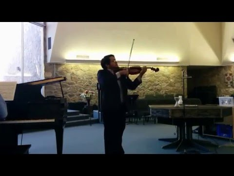 Raul Fernando Dominguez Cortez performing at the 2015 EPSMF Competition for Young Musicians
