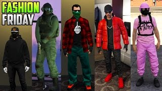 GTA 5 Online FASHION FRIDAY (Ghost 2. All Pink, Classy Outfits & More!)