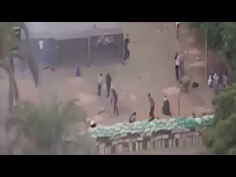 [RAW] Egypt Protest 2013:Security Forces Launch Assault On Protesters Camp 200+ Killed